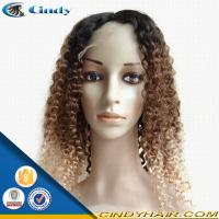 Buy cheap high quality cheap human hair blonde glueless silk top full lace wigs for black women from wholesalers
