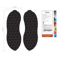 China FS-8 Black EVA Disposable Flipflop Non-Slip Nail Slipper Set on sale
