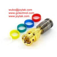 Buy cheap BNC Coaxial Connector Compression Type 75ohm RG174 Coax Cable/BNC.MC75.174.06 from wholesalers