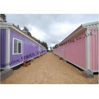 Buy cheap Modified Shipping Container House Prefab Mobile Homes With Insulation Panels Easy Installation from wholesalers