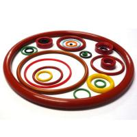 Buy cheap O Shaped Silicone Rubber Flat Rings , Silicone Seals And Gaskets For Petroleum Machinery from wholesalers