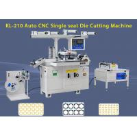 Buy cheap Masking Adhesive Tape Label Die Cutting Machine With Hot Stamping Function from wholesalers
