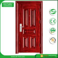 Buy cheap Ce High Quality Swing Security Steel Door Made In China Standard Size of Main Gate Modern American Steel Door from wholesalers