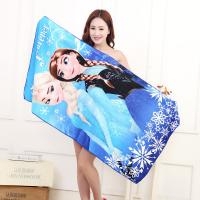 Buy cheap small MOQ custom design print microfiber beach towel microfiber bath towel from wholesalers