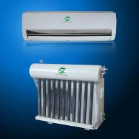 Buy cheap 24000 btu Vacuum Thermal Split Wall Mounted  Solar powered Air Conditioning system Solar Air Conditioner from wholesalers
