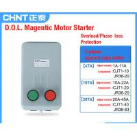 Buy cheap DOL Magnetic AC Motor Contactor Starter 4-63kW AC-3380V For Squirrel Cage Motor from wholesalers