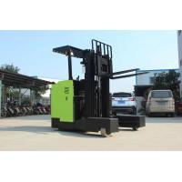 Buy cheap 48V Lifting Height 3 - 8m Reach Truck Forklift Electric Stacker Forklift 12 Months Warranty from wholesalers