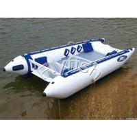 Buy cheap inflatable boat with electric motor from wholesalers