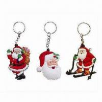 Wholesale Soft PVC Keychains with 2D Car Shape, Customized Designs Welcomed, Suitable for Promotional Gifts from china suppliers