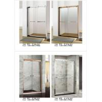 Buy cheap Two Panel Sliding Glass Shower Doors Glass Thickness 6mm With PVC Waterproof Strip from wholesalers