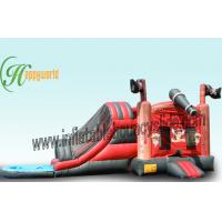 Buy cheap UL / CE Funny Pirate Theme Outdoor Inflatable Water Slides For Kids Playground from wholesalers