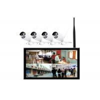Wholesale 300 Cd / M2 10.2 Inch 4 Channel Cctv Lcd Monitor With Wireless Camera from china suppliers