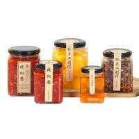 Buy cheap Transparent Glass Jam Jar Sealed Cans Lids With A Plastisol Liner Customized from wholesalers