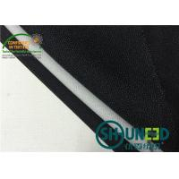 Wholesale Black fusible interfacing Fabric Thermo Polyester Adhesive Bleach White from china suppliers