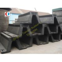 Wholesale Black Arch Marine Rubber Fender For Steamship , 600H High Strength from china suppliers