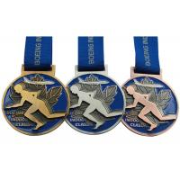 Buy cheap Round Copper Metal Award Medals Original Material Color Die Casting Process from wholesalers