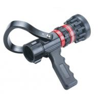Buy cheap Flow Aluminum / Brass Fire Hose Nozzle Storz Type With Pistol Grip Adjust from wholesalers