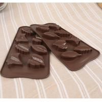 Buy cheap 3d Custom Hard Leaf Silicone Candy Molds 8 Cavity Light Weight Easy Cleaning from wholesalers