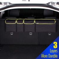 Buy cheap Durable Car Trunk Grocery Organizer , Backseat Trunk Organizer With Lid For SUV Jeep from wholesalers