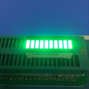 Wholesale Pure Green 10 LED Light Bar 120MCD - 140MCD Luminous Intensity from china suppliers