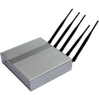 China Professional Remote Control 35dBm Mobile Jammer Device 3G 2110-2170MHZ on sale