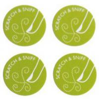 Buy cheap Custom Fragrant Adhesive Stickers Scratch And Sniff With Scent Promotional from wholesalers