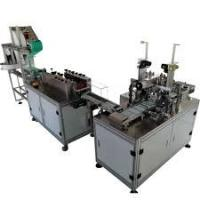 Wholesale PLC Program Control Mask Making Machine For Disposable Flat Masks from china suppliers