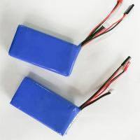 Buy cheap High quality 7.4v 2600mah li polymer battery 2s lipo battey pack from wholesalers