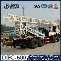 Buy cheap DFC-600 Sinotruck Truck Mounted Water Well Drill Rig Price for Sale from wholesalers