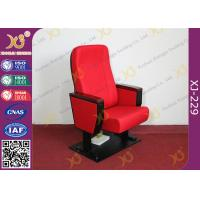 Buy cheap ABS PP Plastic Writing Table Auditorium Chairs With Folding Soft Seat Pad from wholesalers