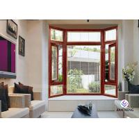 Buy cheap Energy Efficient Aluminium Casement Windows With Tempered Glass from wholesalers