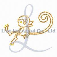 Buy cheap Motif with Strass for Hot Fix from wholesalers