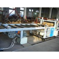 Electric PVC Transparent Plastic Sheet Machine With 3000mm Width Manufactures