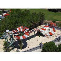 Buy cheap Oxidation Resistance Custom Water Slides / Commercial Water Park Slides from wholesalers