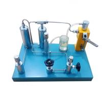 Buy cheap Hydraulic oxygen gas pressure gauge calibrator calibration standard pressure gauge calibration machine from wholesalers