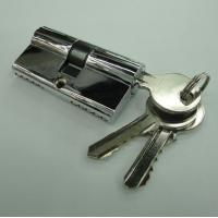 Wholesale 60mm Double Zinc Cylinder with 3 iron normal keys from china suppliers