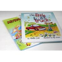Full Color / Pantone Color Children's Book Printing With UV Varnish / glossy lamination Manufactures