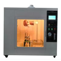 Buy cheap ASTMF2100-19 Fire Testing Machine Mask Fame Retardant Tester 16CFR Part1610 from wholesalers
