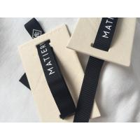 Buy cheap 12mm Ribbon Attached Creative Clothing Hang Tags Retail Clothing Tags 3D Feel from wholesalers