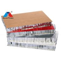 Buy cheap Wood Laminated Alu Honeycomb Panels Durable For High - Speed Rail / Vessel from wholesalers