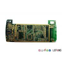Buy cheap Halogen Free 6 Layer High Speed PCB , Industrial Circuit Board ENIG Surface from wholesalers