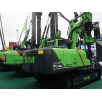 Hydraulic Piling Rig Machine Hire , 65 KN Main Winch Line Pull Pile Driver Equipment