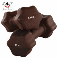 Buy cheap Star Shaped PVC Coated Dumbbells Beautiful Appearance For Women Multi Color from wholesalers