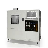 Buy cheap Solid Material Textile Testing Instruments Optical 170Kpa Smoke Density Meter from wholesalers