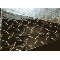 Buy cheap 5086 Aluminum Diamond Tread Plate , Aluminium Checker Plate Sheet For Gangways from wholesalers