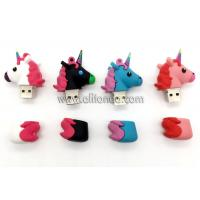 Wholesale Promotional horse animal shape USB flash driver custom with 8g 16g 32g available from china suppliers