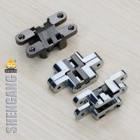 Wholesale Invisible Hinge Zinc Alloy Wooden Door Hinge Factory from china suppliers