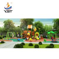 Buy cheap Children plastic outdoor playground slides for sale from wholesalers