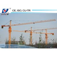 Buy cheap 5612 6ton Hammerhead Tower Crane 56m Jib Construction Tower Crane with Schneider from wholesalers