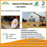 Buy cheap Hot sell aluminum foil coated fiberglass insulation cloth from wholesalers